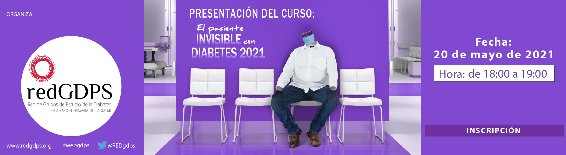 Paciente invisible con diabetes 2021