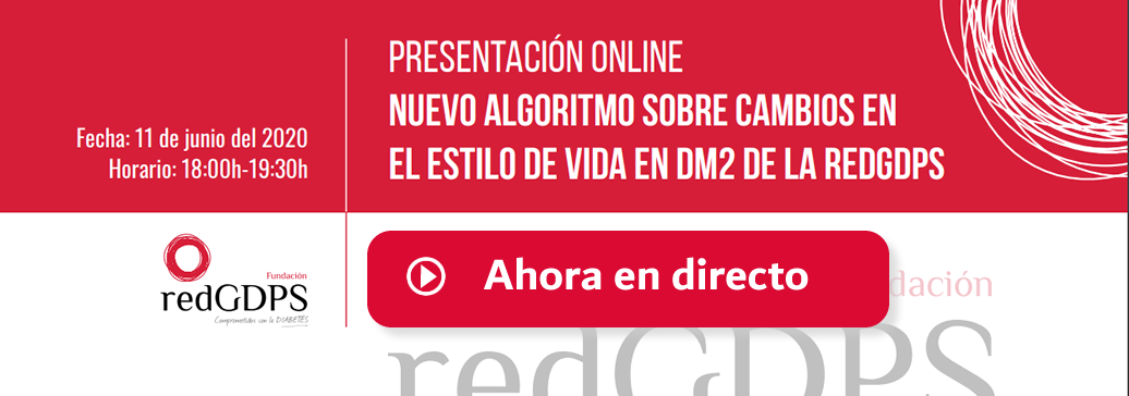 Presentación nuevo algoritmo sobre cambios en el estilo de vida en DM2 de la redGDPS