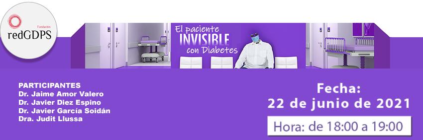 Paciente invisible con diabetes