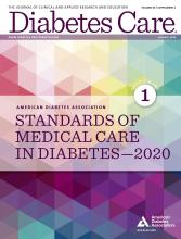 beca de investigación de diabetes 2020
